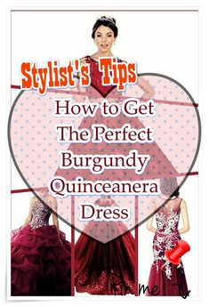 Find the very best Burgundy quinceanera dresses in your area! Uncover Burgundy quinceanera dresses and where to get them! Burgundy Quinceanera Dresses, Our Girl, Girl Birthday, How To Memorize Things, Fashion Dresses, Stylists, Princess, Turning, Royalty