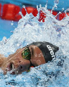 Italy's Gregorio Paltrinieri competes to win the men's 1500m freestyle final…