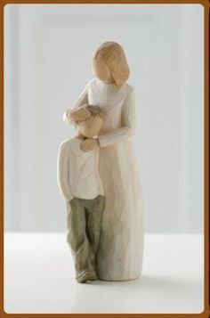 Willow Tree Figures MOTHER AND SON