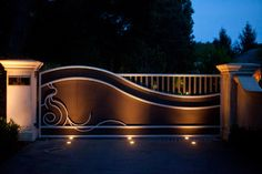 Driveway Gates Design Ideas, Pictures, Remodel, and Decor - page 30