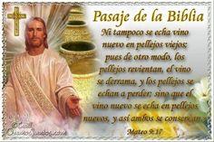 Vidas Santas: Santo Evangelio según san Mateo 9:17