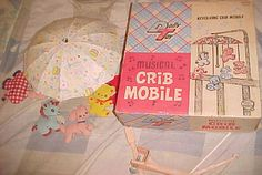 Vintage 1965 BABY Musical Crib Mobile by Dolly Toy in original box MODEL # 603 | eBay