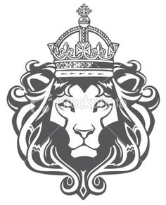 king lion tattoo - Google Search