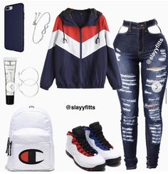 Trendy Outfits for Teens Swag Outfits For Girls, Cute Swag Outfits, Teenage Girl Outfits, Cute Comfy Outfits, Cute Outfits For School, Teen Fashion Outfits, Teenager Outfits, Dope Outfits, Stylish Outfits