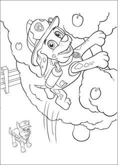 Printable Paw Patrol Coloring Pages For Kids - Free Coloring Sheets
