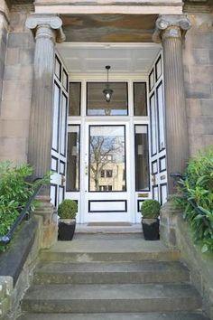 Gorgeous door in Glasgow's West End area Hyndland