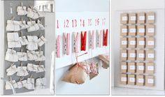 Lots of DYI Advent Calendar ideas.