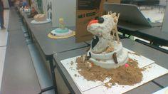 Cake contest at Parkridge Elementary