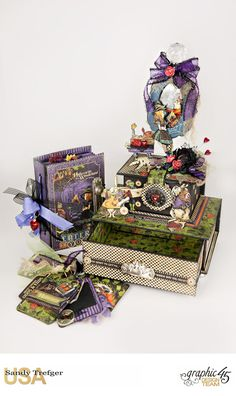 How to Create a Graphic 45 Halloween Trinket Box                                                                                                                                                                                 More