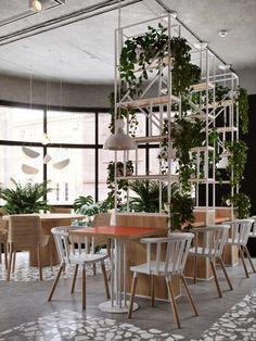 Emphāsis on behance vintage cafe design, vintage decor, vintage style, deco restaurant,