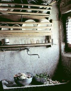 Kitchen, interiors, photo: Christopher Baker