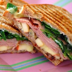 Ham, Apple and Brie Panini (and 20 tempting grill cheese ideas)