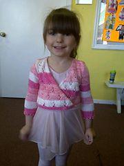 Ravelry: Toddler Ballet Wrap pattern by Eileen Casey