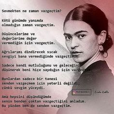 Çoktan vazgeçtimm Meaningful Sentences, Good Sentences, Meaningful Quotes, Philosophical Quotes, She Quotes, Magic Words, Osho, Friend Pictures, Powerful Words