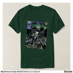 Mysterion Comic Book Cover Tee Shirt