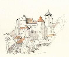 Salvagnac-Cajarc, Aveyron, France