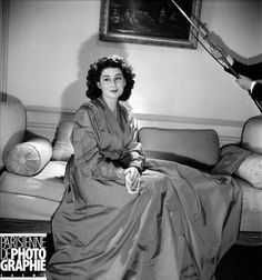 Princess Niloufer of Hyderabad, photographed in Paris in March 1947.