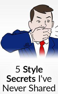 5 Style Secrets I've NEVER Shared | Secret Men's Fashion Tips | Easy Shopping Hacks