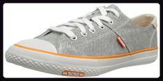 Skechers UtopiaPeace Sign, Damen Sneakers, Grau (GRY), 37 EU - Sneakers für frauen (*Partner-Link)