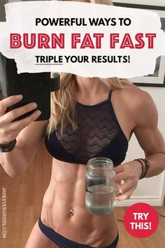 Powerful ways to burn fat fast. Check my blog post to know my strategy on how to burn fat at home #howtoburnfat #howtoloseweight #weightlosstips