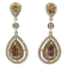 Diamond Earrings Designs #jewelry