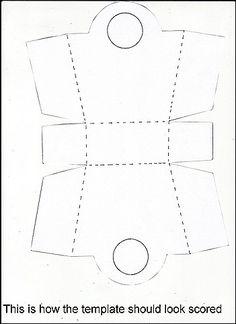 Paper+Purse+Template | bucket bag template