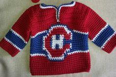 Sports/ hockey jersey pattern.