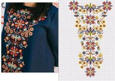 Russian Embroidery, Embroidery On Kurtis, Embroidery On Clothes, Embroidered Clothes, White Embroidery, Embroidery Dress, Hand Embroidery, Embroidery Stitches Tutorial, Machine Embroidery Designs