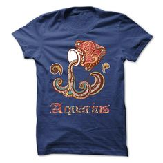 (Cool T-Shirts) Aquarius Horoscope Zodiac T-shirt and Hoodie - Order Now...