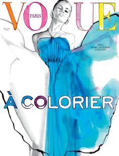 Wanted : le second volet de Vogue à colorier, en vente chez colette | Vogue