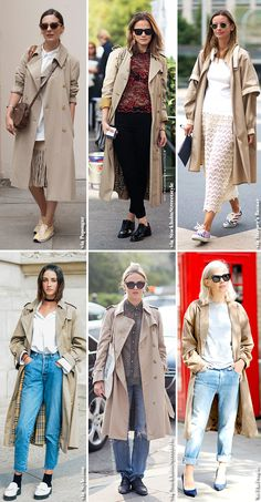 How to Wear the Classic Trench