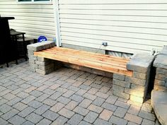 Image Result For Brick Garden Seats
