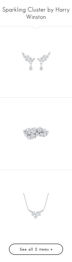 """Sparkling Cluster by Harry Winston"" by karalaska ❤ liked on Polyvore"