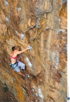 Get over my fear of lead climbing