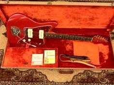 1962 #Fender #Jazzmaster Dakota Red  #VintageGuitars