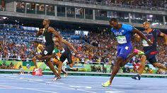 Primeiro e único: Usain Bolt faz história no Rio com o tricampeonato dos 100m #globoesporte