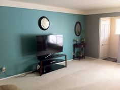 Azure Waters by Benjamin Moore -- REALLY like this color for the living room!