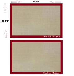 Silicone Baking Sheet Mat Liner 16  X 11 58 Inch Set of 2 ** Continue to the product at the image link.