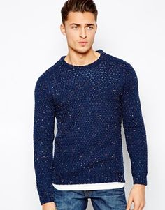 Pull&Bear Jumper in Cable Knit