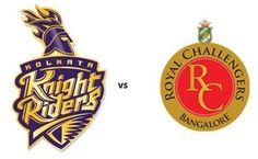 Kolkata Knight Riders VS Royal Challengers Bangalore,Kolkata Knight Riders,Royal Challengers Bangalore