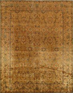 Antique Lavar Kerman Rug –  Circa:1900 Sizes:8.9X11.2