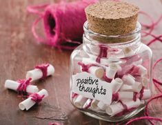 positive thoughts:) | cute diy| so going to do this
