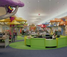 The CHILDREN'S LIBRARY in the Shelby County Central (Main) Library in Memphis, TN
