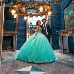 Quinceanera History Sweet 16 Dresse New 2015 Mint Green Prom Ball Gown Real Photos Tulle Lace Up Long Crystal Beaded Masquerade Quinceanera Dresses Olesa Simple Quinceanera Dresses From Weddingpalace, $113.09| Dhgate.Com