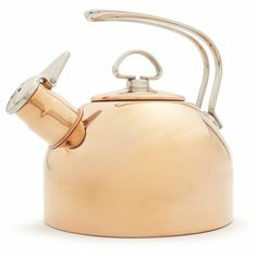 Chantal Copper Classic Teakettle / Sur La Table. Also found at Bed Bath and Beyond