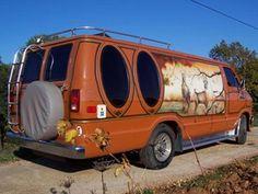 Custom 70's Dodge Maxi van Dodge Van, Chevy Van, Station Wagon, Custom Van Interior, Old School Vans, Vanz, Cool Vans, Custom Vans, Diesel Trucks