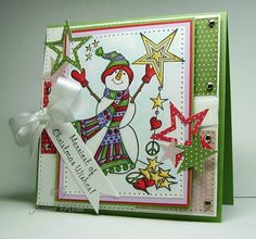 C4C109 Merriest Christmas by knightrone - Cards and Paper Crafts at Splitcoaststampers
