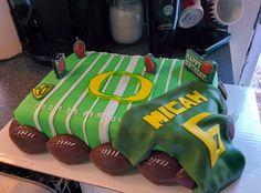 Oregon Ducks cake