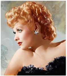 """Lucille Ball ~ Best remembered for her roles as the title characters in each of her 3 series: """"I Love Lucy"""", """"The Lucy Show"""" and """"Here's Lucy"""". Her genealogy can be traced back to the earliest settlers in the colonies. One direct ancestor, William Sprague (1609-1675), left England on the ship """"Lyon's Whelp"""" for Plymouth/Salem, Massachusetts. They were from Upwey, Dorsetshire, England. William, along with his 2 brothers, helped to found the city of Charlestown, Massachusetts."""