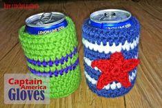 Free Crochet Pattern - Soda Cozy